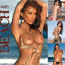 Beach Girls 2017 Kalender Pin-Up Erotik-Kalender sexy Akt Erotikkalender Strand