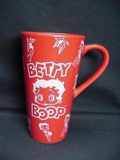 BETTY BOOP CERAMIC TRAVEL MUG (RED)