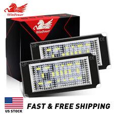 LED License Plate Light Error Free For 98-03 BMW E46 330i 325i Number Plate Lamp