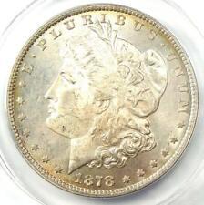 1878 8TF Morgan Silver Dollar $1 VAM-17 - Certified ANACS MS63 - Scarce Variety!