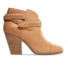 NEW Rag & Bone Harrow Belted Leather Ankle Bootie Women's US 11