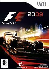 F1 2009 Wii NEW And Sealed Full UK Version Formula 1 2009 Formula One 2009 Wii