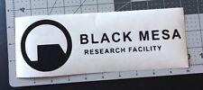 Black Mesa Research Facility Vinyl decal sticker Car Truck Boat Window Laptop