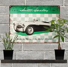 "1955 Austin Healey 100s Motor Car AD Metal Sign Repro 9x12"" 60287"