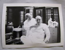 PHOTO Continental Hotel Chicago BARBER SHOP Black & White Barbers 50s A SHAVE