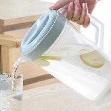 2L Tetera Jarra de agua de jugo resistente al calor  Cold Water Jug Teapot+tapa