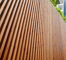 Screening & Gate Panels - Solid Bamboo Timber & Aluminium