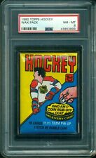 1980 Topps Hockey Sealed Wax Pack ** PSA 8 ** 2nd Year Gretzky Card ?