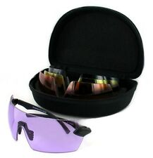 Shooting Glasses Evolution Matrix 4 Lens Set with hard case and cleaning cloth