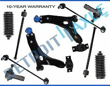 New 10pc Complete Front Suspension Kit for 2000-2004 Ford Focus - BEFORE 4/4/04