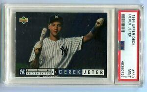 1994 Upper Deck Derek Jeter Top Prospect #550 PSA 9 MINT HOF YANKEES