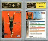 2003 Net Pro Serena Williams Rookie Card #2 Graded ASG 10 MINT