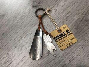 "RRL Double Ralph Lauren Key Chains ""You Pay"""