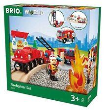 BRIO 33815 - Feuerwehr-set Neu/ovp