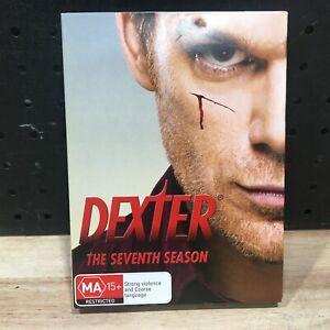 DEXTER THE SEVENTH SEASON MA 15+ DVDS - LIKE NEW
