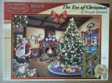 """""""The Eve of Christmas"""" 1000 pc. Jigsaw Puzzle - complete in Excellent condition."""