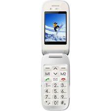 Majestic sileno51 telefono cellulare per anziani dual display con  e BIANCO