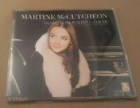 MARTINE MCCUTCHEON * TALKING IN YOUR SLEEP / LOVE ME * CD SINGLE CD2 EXCELLENT