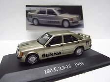 "Mercedes 190 E 2.3-16 W201 "" SENNA '11 '"" - Nr. '78' der Sammlung 'DeAgostini'"