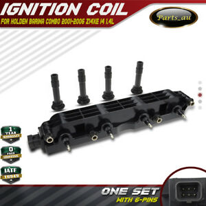 Ignition Coil for Holden Barina Combo XC 2001-2006 Z14XE 1.4L 1208307