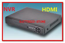 DVR 4 Canali NVR IP IBRIDO FULL HD Supporto Speed Dome Camera + ONVIF Protocol