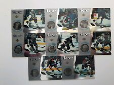 Lot of 8 1997-98 UD Mcdonalds Ice-Ice Breakers-THORNTON+MARLEAU+PHILLIPS