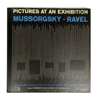 MUSSORGSKY RAVEL PICTURES AT AN EXHIBITION VANDERNOOT LP COMMAND CC 11003 SD EX