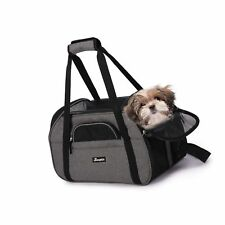 """Jespet Soft Pet Carrier for Small Dogs, Cats, Puppy, 17"""" & 19"""" . Free Shipping"""