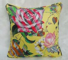 Designers Guild Fabric Cushion Cover 'MALMAISON' Jonquil - 100% Cotton - 18""
