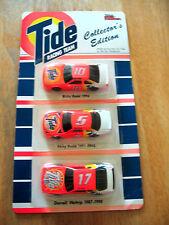 1993 Tide Laundry Detergent Advertising Promo NASCAR Sponsor 3 Car Set  NIP