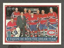 1993 OPC Fanfest Puck Canadiens' Dream Team, Richard, Plante, Beliveau, etc