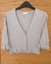 New look Ladies shrug/bolero Cardigan Size 8 Grey
