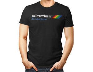 ZX SPECTRUM SINCLAIR - unisex T shirt 80's Video Gaming Retro Vintage men women