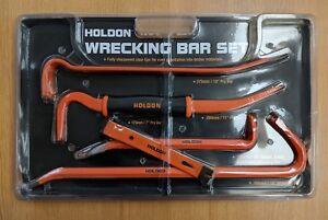 HoldOn 5pc Wrecking Bar Set