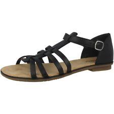 Rieker Kalkutta Women Schuhe Damen Sandalen Freizeit Sandaletten black 64288-01