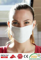 Mund-Nasen-Bedeckung mit Silberionen Wiederverwendbar Behelfsmaske Waschbar, DE!