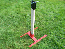 HEAVY DUTY 2X4 AR500 STEEL TARGET SHOOTING STAND WITH TOPPER 1/2'' bolt