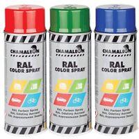 RAL9006 Lack Spray 1x 400ml 1K Grau Autolack Silber Sprühlack Glänzend Chamäleon
