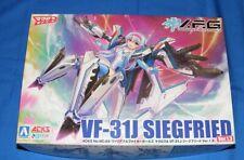 New listing Vf-31J Siegfried Variable Fighter Girls ver 1.3 plastic model kits by Aoshima