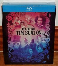 COLECCION TIM BURTON PACK 9 DISCOS BLU-RAY NUEVO PRECINTADO (SIN ABRIR) R2