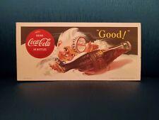 Vintage Coca-cola Ink Blotter 1953