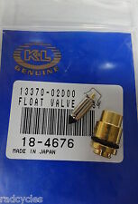 Arctic Cat Float needle and Seat K&L 18-4676 Carburetor Float Valve 250 300 400