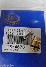 Arctic Cat Float needle and Seat K&L 18-4676 Carburetor Float Valve 250 300 400