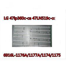 Replacement Backlight Array LED Strip Bar LG 47LN5700 47LA6200 47LN549C LC470DUE