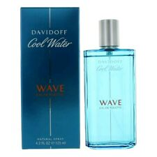 Cool Water Wave by Davidoff, 4.2 oz EDT Spray for Men
