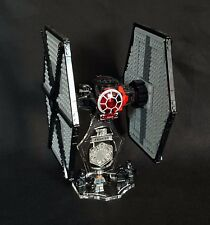 Display Stand 3D + Ranuras Para Lego 75101 Tie Fighter (Star Wars)