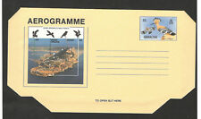 GIBRALTAR-MINT AEROGRAMME-FAUNA- BIRDS