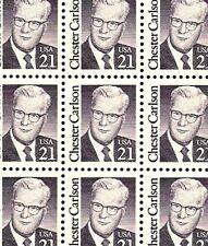 1988 - CHESTER CARLSON - #2180 Full Mint -MNH- Sheet