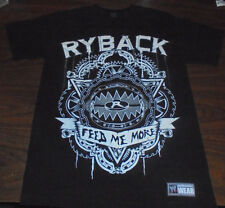 WWE Ryback shirt size Small S Wrestling NXT WWF FEED ME MORE Nexus RARE Pro