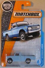 Matchbox 2017 '62 NISSAN JUNIOR pickup truck light blue